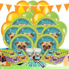 puppy party supplies pug puppy party supplies decorations partyrama