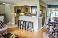 split level kitchen ideas kitchen islands designs with pillars kitchen with columns