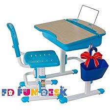 amazon com i study height adjustable children u0027s desk and chair