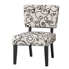 Black And White Accent Chair Linon Taylor Accent Chair White And Black Swirls Black Bj U0027s