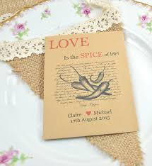seed packets wedding favors chilli seed packet chilli wedding favours recycled favours