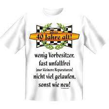 40 geburtstag spr che frau 40 geburtstag spass t shirt 40 jahre alt wenig vorbesitzer fb