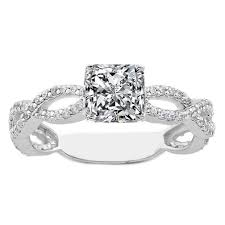 vintage square engagement rings engagement ring square radiant vintage infinity