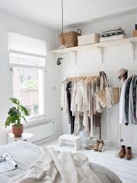 Clothing Storage Solutions by 12 No Closet Clothes Storage Ideas Room Makeovers To Suit Your