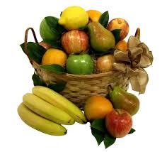 fresh fruit basket delivery classic fresh fruit basket merino s flowers fruit baskets