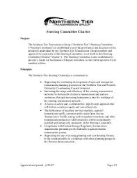 steering committee charter template drivecms