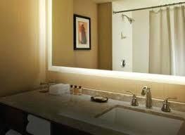 How To Hang Bathroom Mirror Bathroom Cabinets Frameless Mirror Mirror Frame Molding Large