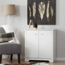 Door Storage Cabinet South Shore Vito Small White 2 Door Storage Cabinet Free