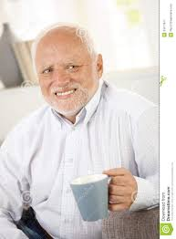 Stock Photos Meme - smiling old man having coffee stock image image of good coffee