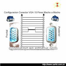 factory supply d sub male connector wiring diagram vga cable buy