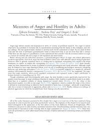measures of anger and hostility in adults pdf download available