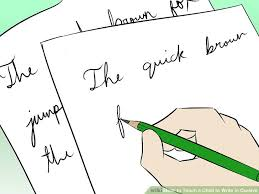 how to write i in cursive how to teach a child to write in cursive 5 steps with pictures
