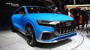 maserati tron audi q8 e tron concept first look 2017 detroit auto show youtube