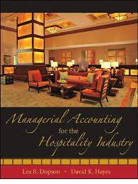 managerial accounting for the hospitality industry income