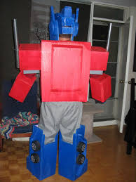 the do it yourself optimus prime halloween costume