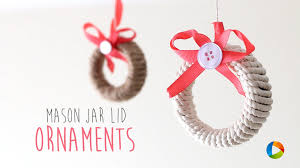 diy jar lid ornaments