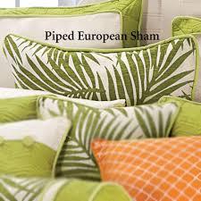 Ivory Duvet Cover Set Capri Tropical Palm Duvet Cover Set