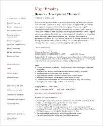 Business Development Resumes Basic Business Resume Templates 24 Free Word Pdf Documents