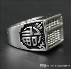 asian crystal ring holder images Newest design chinese abacus ring 316l stainless steel fast jpg