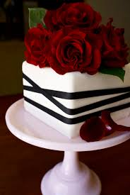 wedding cakes red and white and black wedding cakes red and