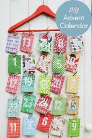 christmas calendar paper envelope advent calendar pillar box blue