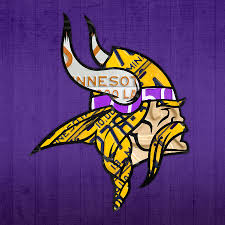 minnesota vikings football team retro logo minnesota license plate