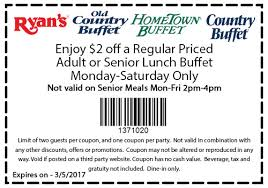 Old Country Buffet Coupon Buy One Get One Free by Of Buffet Coupon