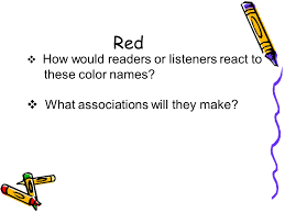 color connotations lesson one understanding color connotations
