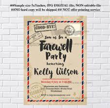 farewell party invitation farewell party invitations farewell dinner invitation retirement