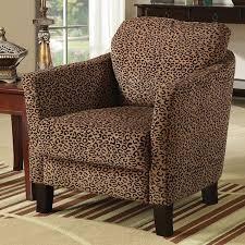 jungle accent chair leopard