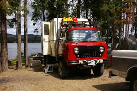 jeep fc 170 jeep fc camper truck camper truck camper of the day