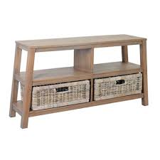 Atwoods Outdoor Furniture - atwood double wide low shelf grey 60x16x30 console jeffan