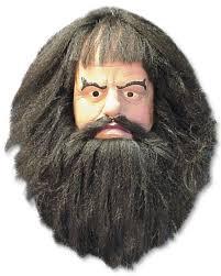beard halloween costumes hagrid harry potter mens fancy dress costume mask all