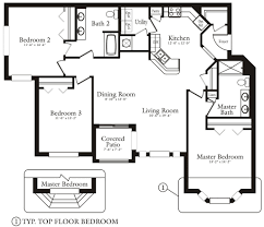 3 bedroom 2 bath floor plans floor plans the club at hidden river apartments in tampa the