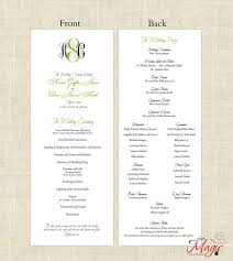 diy wedding programs templates wedding wedding programates printable diy programs simple but by
