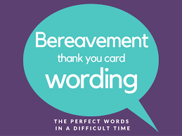 thanksgiving prayer for teachers bereavement thank you notes lovely wording examples
