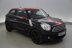 used 2013 mini paceman 1 6 cooper d all4 3dr chili pack fog