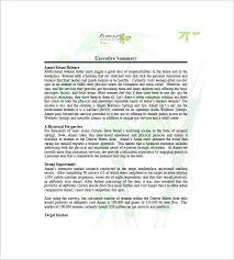spa u0026 salon business plan template 10 free word excel pdf