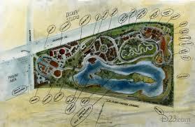 walt disney u0027s proposed theme park in burbank d23