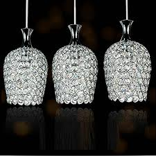 crystal pendant lighting for kitchen great crystal pendant lighting dinggu modern 3 lights crystal