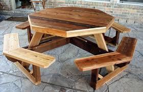 impressive rustic wood outdoor furniture outdoor oak beam table