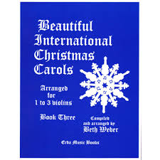 beautiful international carols erda books shar