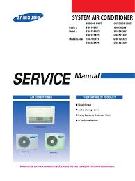 samsung cac ceiling unit service manual power inverter air