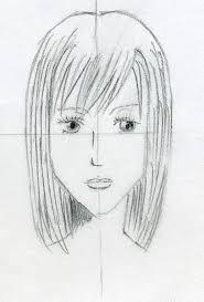 sketches of hair draw manga hair easily