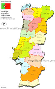 Cabo Map Map Of Portugal Planetware