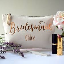 Ideas For Asking Bridesmaids To Be In Your Wedding Personalised Bridesmaid Gifts And Ideas Notonthehighstreet Com