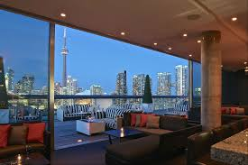 Top 10 Bars Toronto Rooftop Bars U0026 Lounges Toronto Thompson Toronto Rooftop Lounge