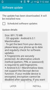 sprint galaxy s5 gets android 6 0 marshmallow ota update