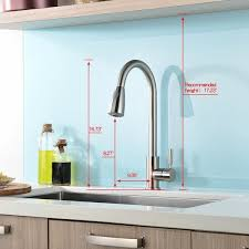 kitchen cabinet sink faucets concordia pull touchless single handle kitchen sink faucet with sprayer