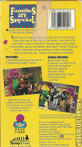 barney families are special vhscollector com your analog